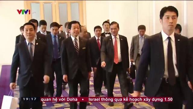 Thủ tướng Nguyễn Xuân Phúc làm việc với Keidanren