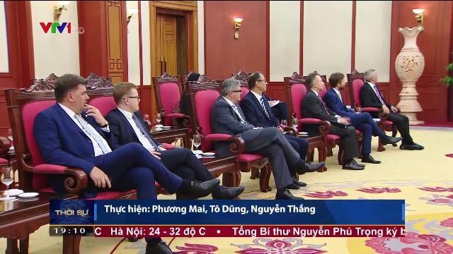 Tổng bí thư Nguyễn Phú Trọng tiếp Tổng thống Séc