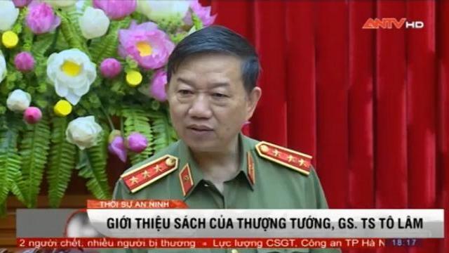 Giới thiệu sách của Thượng tướng, GS. TS Tô Lâm