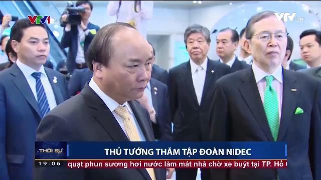 Thủ tướng Nguyễn Xuân Phúc thăm tập đoàn NIDEC
