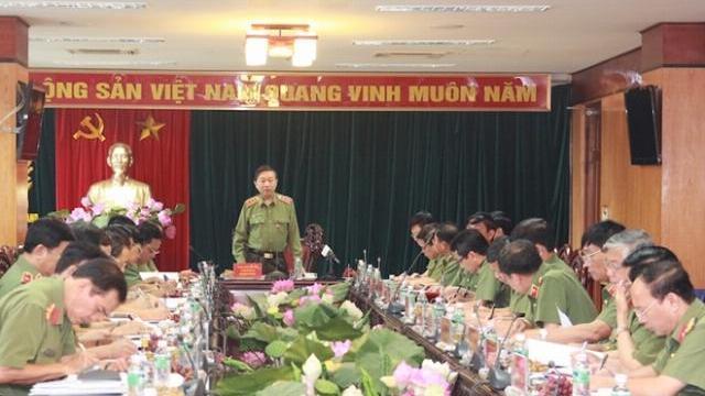 Tăng cường sự lãnh đạo của Đảng đối với công tác Công an