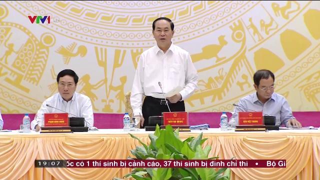 Chủ tịch nước Trần Đại Quang tại phiên họp toàn thể ủy ban Quốc gia APEC 2017