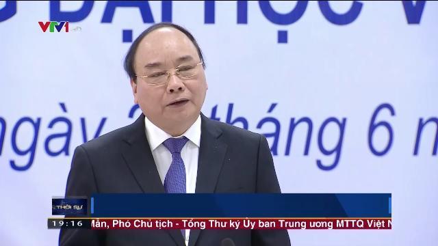 Thủ tướng Chính phủ Nguyễn Xuân Phúc thăm Đại học Việt Đức, tỉnh Bình Dương