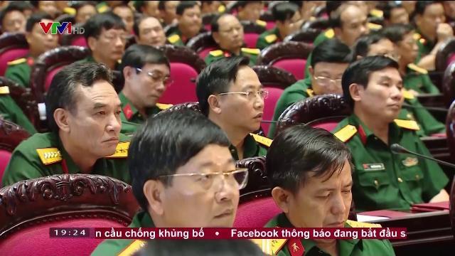 Thủ tướng Nguyễn Xuân Phúc tại hội nghị quân chính toàn quân