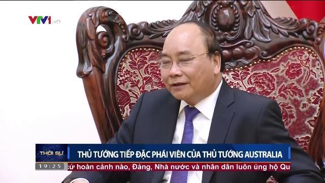 Thủ tướng Nguyễn Xuân Phúc tiếp đặc phái viên của Thủ tướng Australia