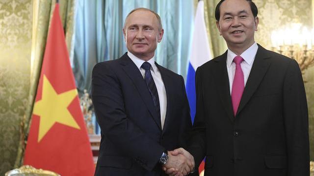 Lễ ký kết các văn kiện hợp tác giữa Việt Nam và Liên bang Nga