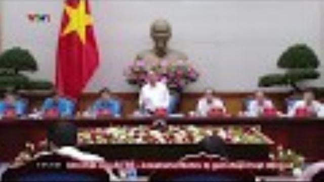 Thủ tướng Nguyễn Xuân Phúc làm việc với tổng liên đoàn lao động