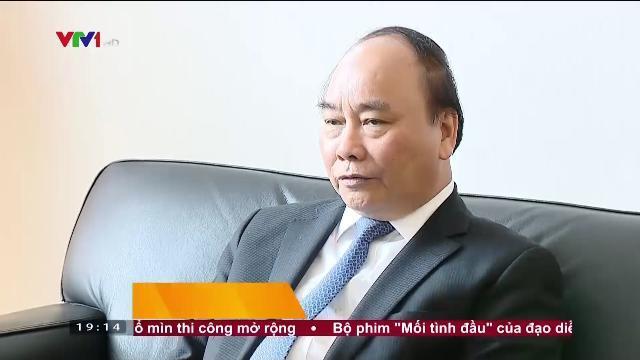 Thủ tướng Nguyễn Xuân Phúc làm việc với thị trưởng Berlin