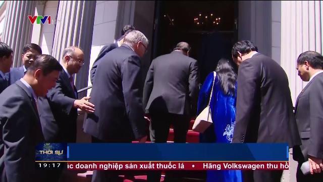 Thủ tướng Nguyễn Xuân Phúc hội kiến chủ tịch Quốc hội bang Hessen