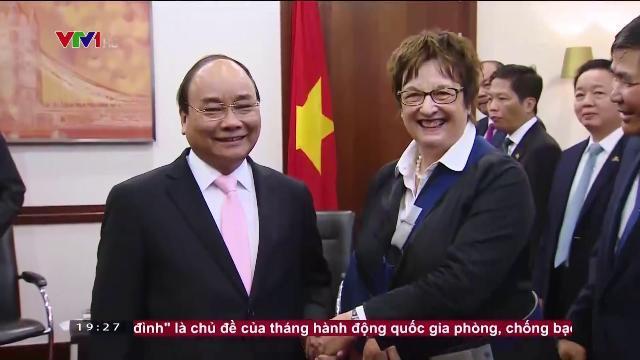 Thủ tướng Nguyễn Xuân Phúc tiếp bộ trưởng kinh tế Đức