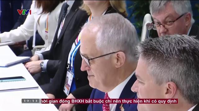 Thủ tướng Nguyễn Xuân Phúc hội kiến Thủ tướng Australia