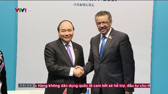 Thủ tướng Nguyễn Xuân Phúc tiếp Tổng giám đốc WHO