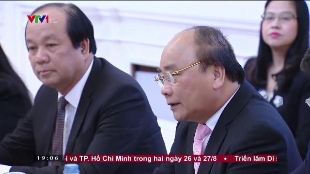 Thủ tướng Nguyễn Xuân Phúc tiếp Chủ tịch tập đoàn VAMED