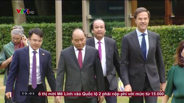 Thủ tướng Nguyễn Xuân Phúc hội đàm với Thủ tướng Hà Lan