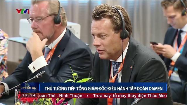 Thủ tướng Nguyễn Xuân Phúc tiếp Tổng giám đốc điều hành tập đoàn DAMEN và công ty năng lượng PUMAN