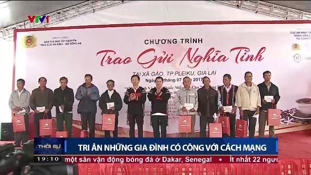 Bộ trưởng Tô Lâm tri ân những gia đình có công với cách mạng