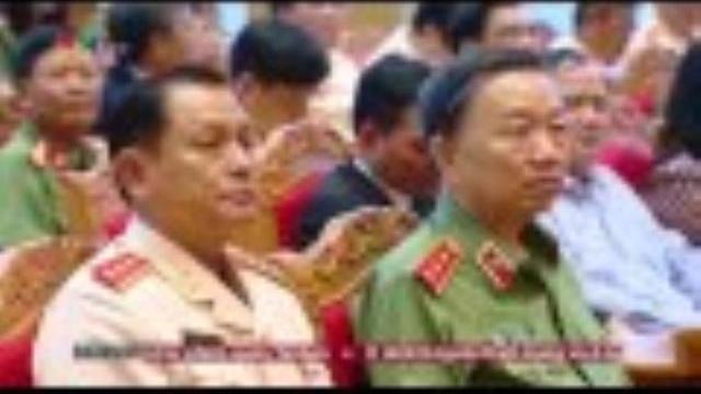 55 năm truyền thống lực lượng cảnh sát nhân dân