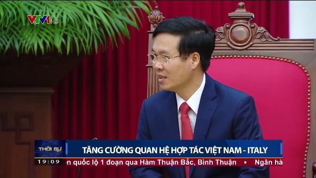 Ông Võ Văn Thưởng họp bàn trao đổi tăng cường guan hệ hợp tác Việt Nam Italy