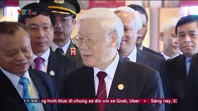 Tông bí thư Nguyễn Phú Trọng thăm cấp nhà nước vương quốc Campuchia