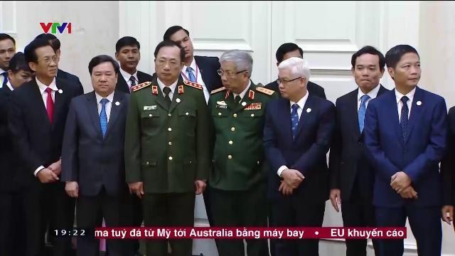Tổng bí thư Nguyễn Phú Trọng tại lễ ký kết quan hệ Việt Nam Campuchia