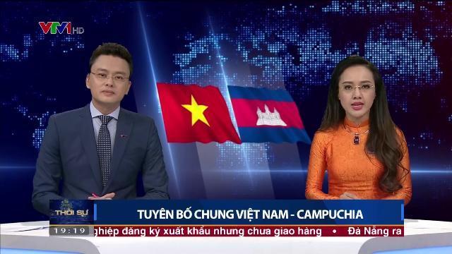 Tuyên bố chung Việt Nam Campuchia