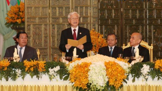 50 năm quan hệ Việt Nam Campuchia gắn bó khăng khít