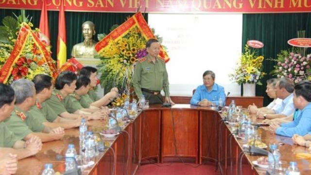 Bộ trưởng Tô Lâm dự lễ kỷ niệm 88 năm ngày thành lập công đoàn Việt Nam