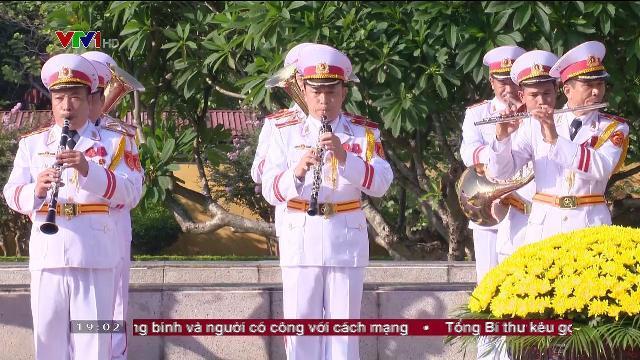 Lễ viếng cấp nhà nước kỷ niệm 70 năm ngày thương binh, liệt sỹ