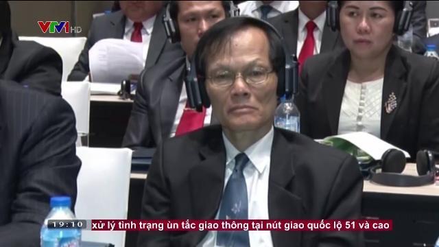 Ông Võ Văn Thưởng tại hội thảo lý luận giữa ĐCS Việt Nam và ĐND Cách Mạng Lào
