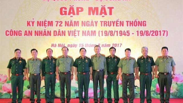 Gặp mặt kỷ niệm 72 năm Ngày truyền thống CAND