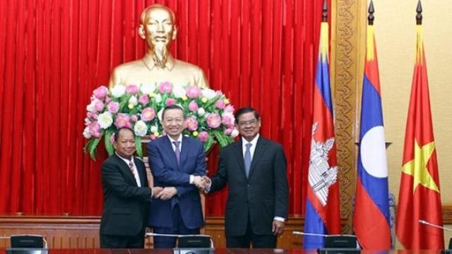 Tiếp tục phát huy những thành tựu đã đạt được trong quan hệ hợp tác giữa Việt Nam - Campuchia - Lào