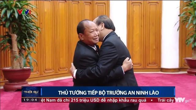 Thủ tướng Nguyễn Xuân Phúc tiếp Bộ trưởng an ninh Lào