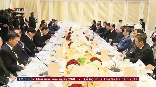 Thủ tướng Nguyễn Xuân Phúc kêu gọi doanh nghiệp Thái Lan đầu tư vào Việt Nam
