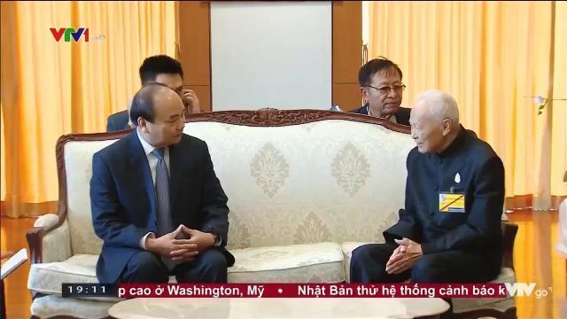 Thủ tướng Nguyễn Xuân Phúc hội kiến Chủ tịch hội đồng cơ mật hoàng gia Thái Lan
