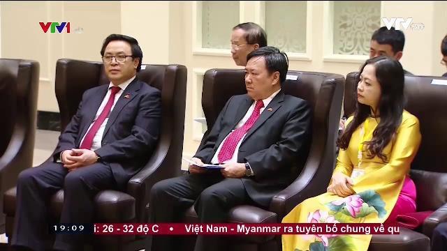 Tổng bí thư Nguyễn Phú Trọng tiếp Chủ tịch Đảng đoàn két và phát triển liên bang