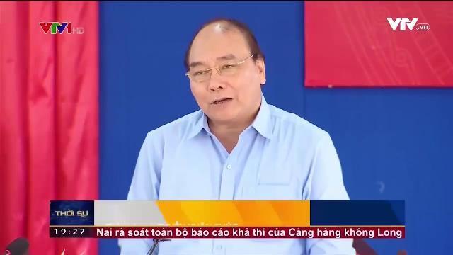 Thủ tướng Nguyễn Xuân Phúc thăm xã bị ảnh hưởng bởi sự cố môi trường biển