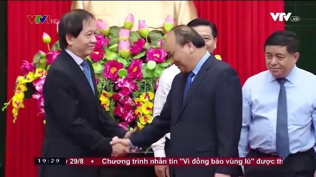 Thủ tướng Nguyễn Xuân Phúc dự lễ phát hành bộ tem Đại tướng Võ Nguyên Giáp