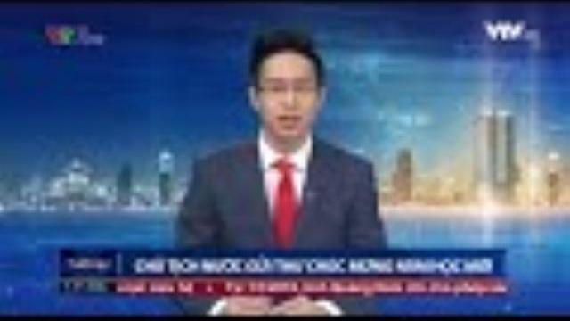 Chủ tịch nước Trần Đại Quang gửi thư chúc mừng năm học mới