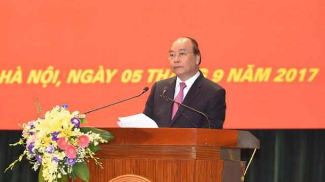 Thủ tướng Nguyễn Xuân Phúc dự khai giảng học viện chính trị Quốc gia TPHCM