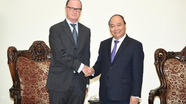 Thủ tướng Nguyễn Xuân Phúc tiếp đại sứ Áo