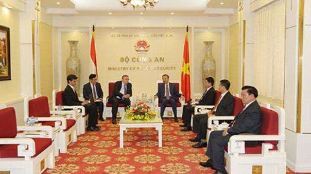 Bộ trưởng Tô Lâm tiếp Đại sứ đặc mệnh toàn quyền Cộng hòa Hungary tại Việt Nam