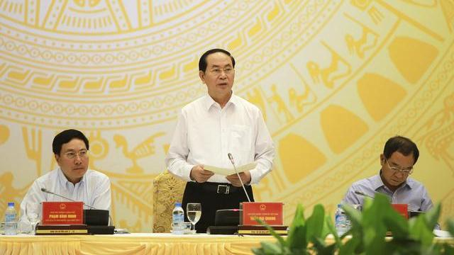 Chủ tịch nước Trần Đại Quang yêu cầu đảm bảo an toàn tuyệt đối tuần lễ cấp cao APEC 2017