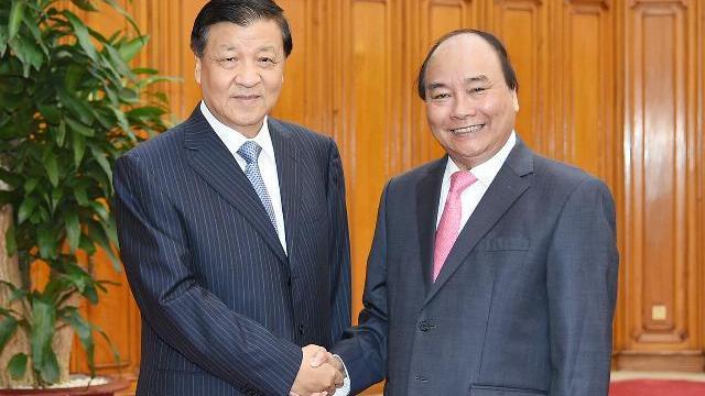 Thủ tướng Nguyễn Xuân Phúc tiếp đoàn đại biểu ĐCS Trung Quốc