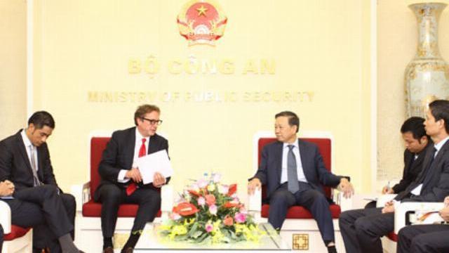 Bộ trưởng Tô Lâm tiếp Chủ tịch Quỹ đầu tư Harbinger