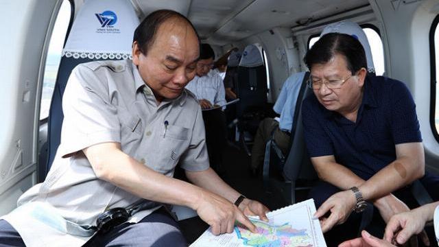 Thủ tướng Nguyễn Xuân Phúc thị sát Đồng bằng sông Cửu Long