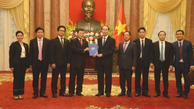 Chủ tịch nước làm việc với lãnh đạo Hội đồng Tư vấn Kinh doanh APEC