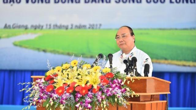 Thủ tướng Nguyễn Xuân Phúc quyết định nhiều chính sách phát triển ĐBSCL