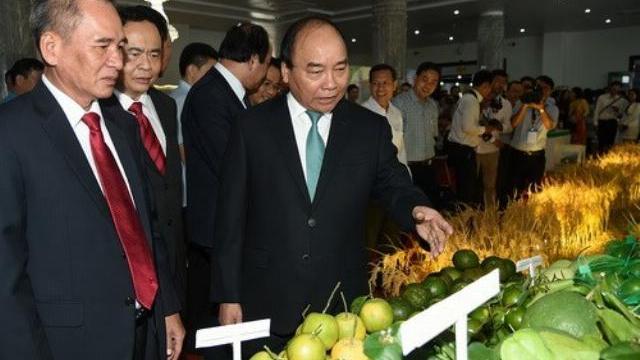 Thủ tướng Nguyễn Xuân Phúc thăm và làm việc tại Hậu Giang