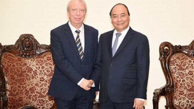 Thủ tướng Nguyễn Xuân Phúc tiếp đại sứ Bulgaria