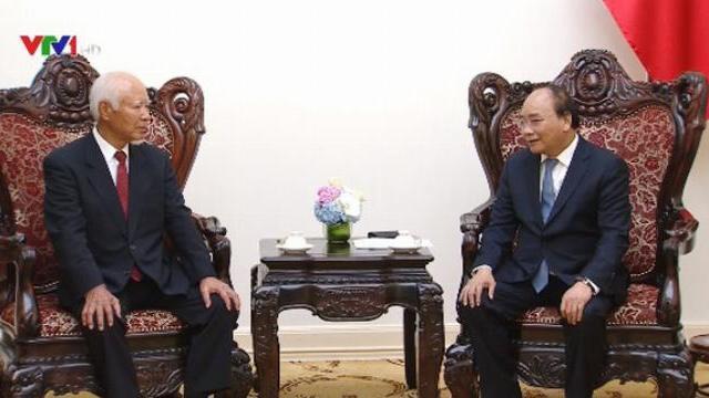 Thủ tướng Nguyễn Xuân Phúc tiếp nguyên chủ tịch tập đoàn Taisei